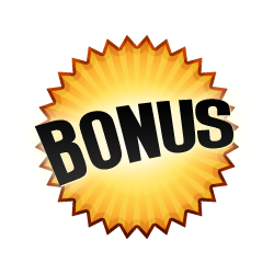 Free Bonus - Burst Badge Red
